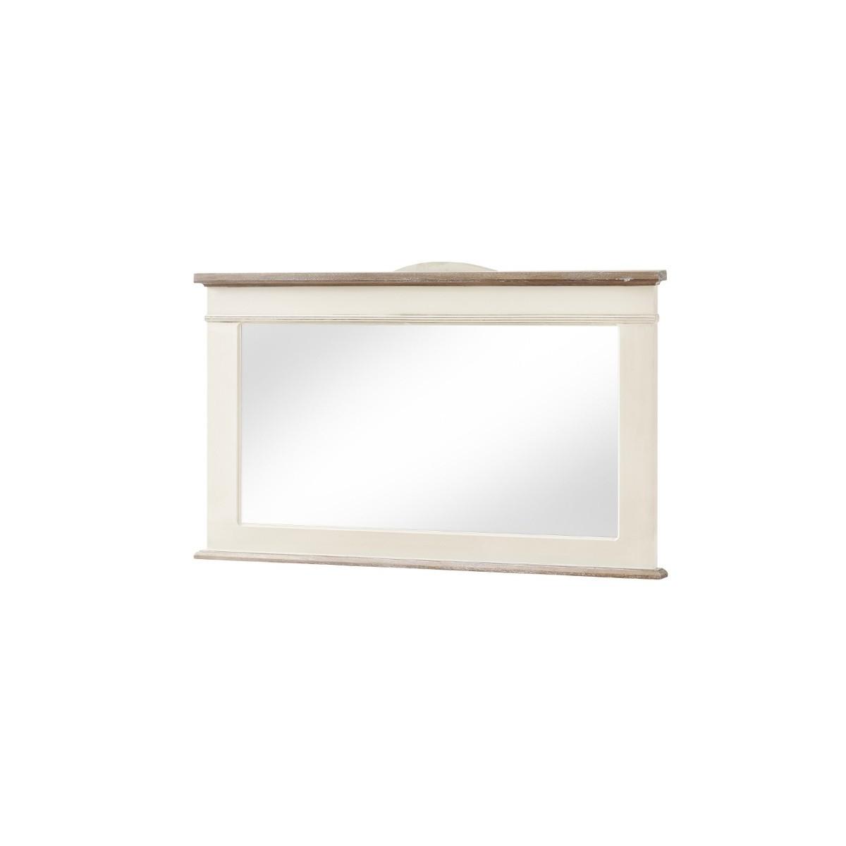 Oglinda decorativa din lemn de plop si MDF, Rimini RI054