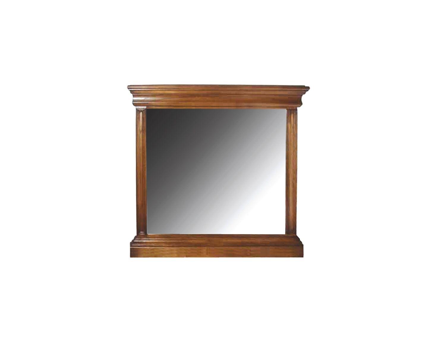 Oglinda decorativa din lemn de stejar Valentino Oak l118xA75xH118 cm