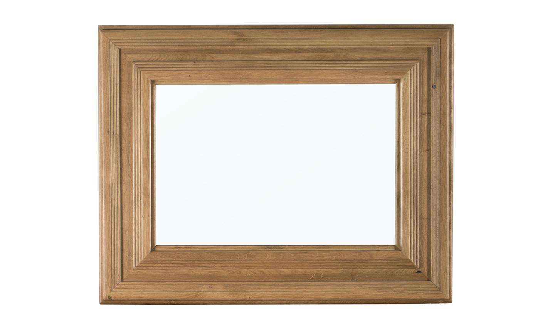 Oglinda decorativa din lemn de stejar York Oak l110xA45xH85 cm