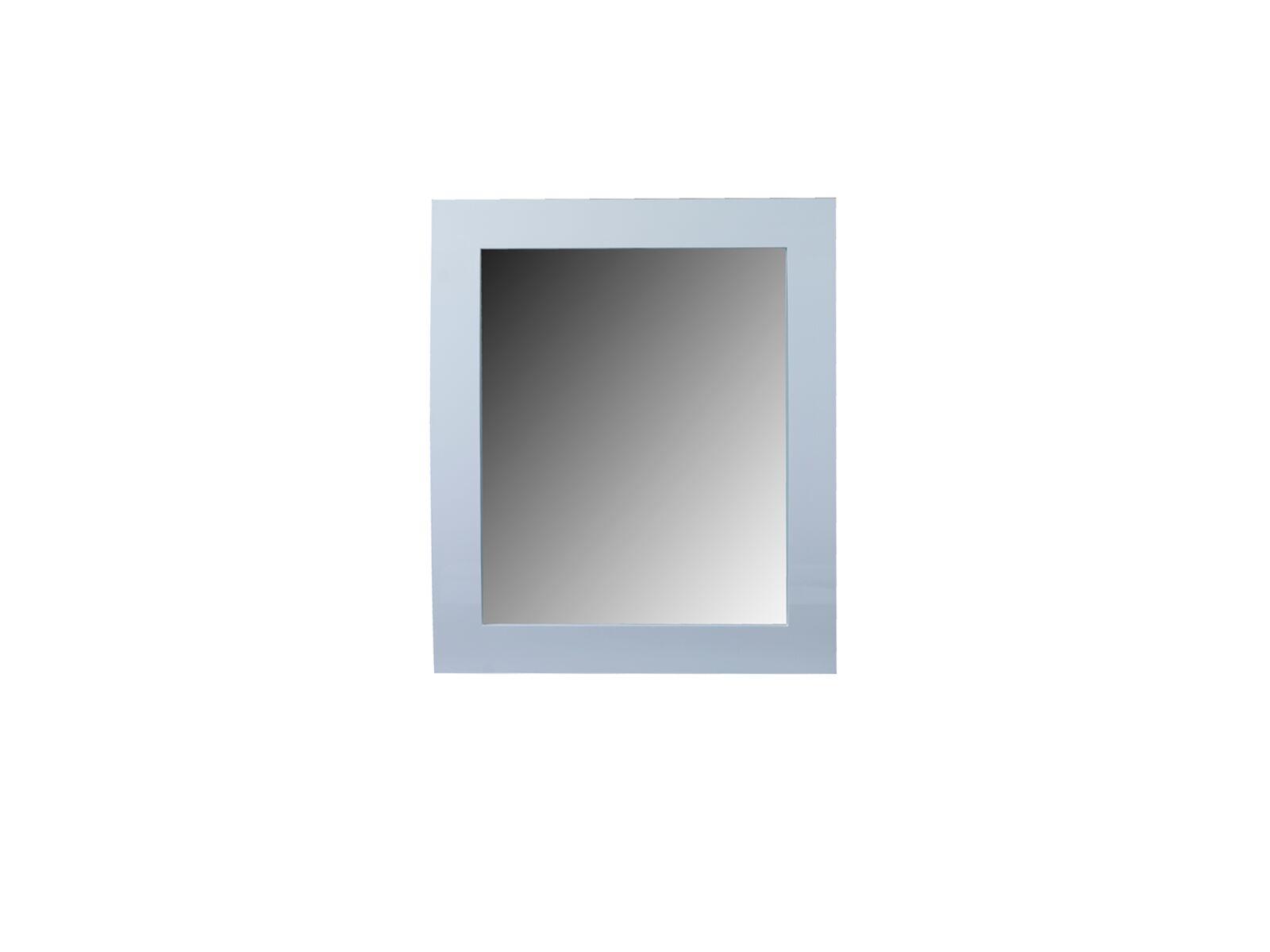 Oglinda decorativa din MDF Newport White l90xA7xH105 cm