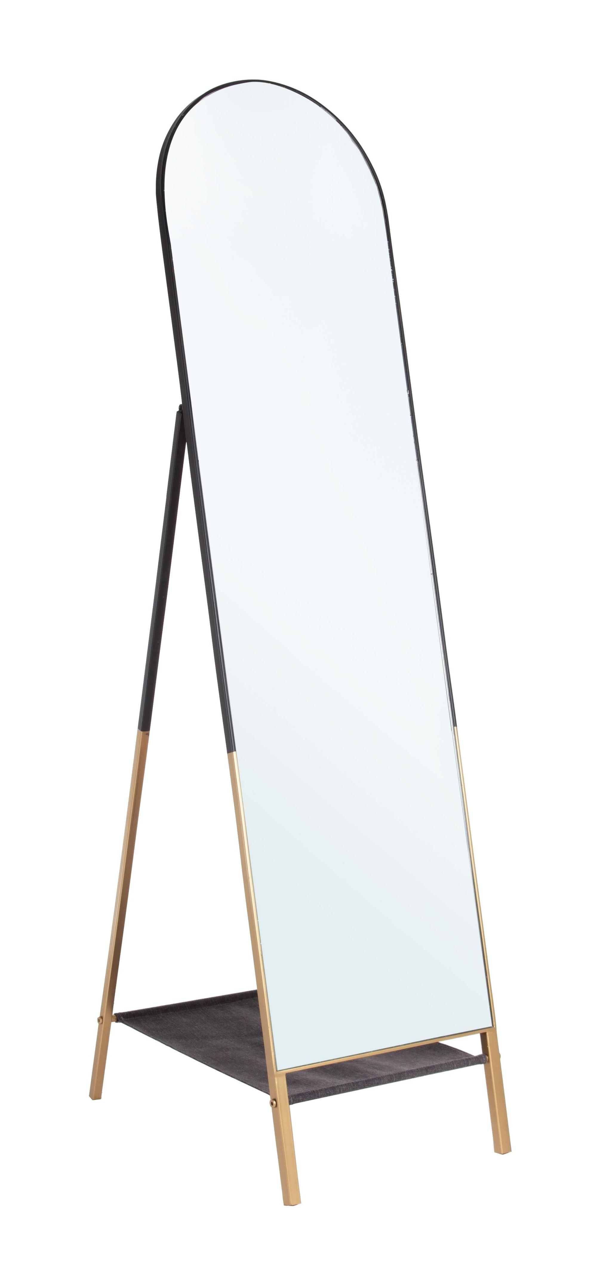 Oglinda Decorativa Metal Reflix Negru Auriu