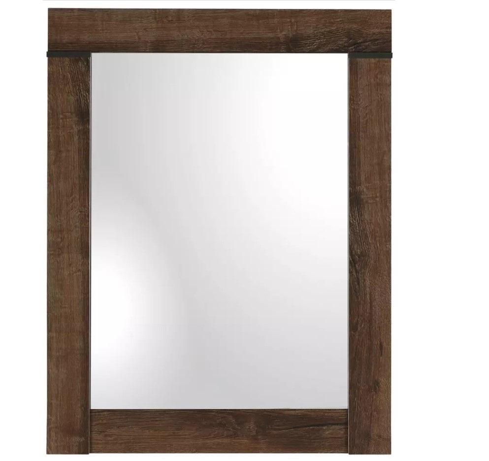 Oglinda decorativa din pal Blake Stejar, L64xl82 cm