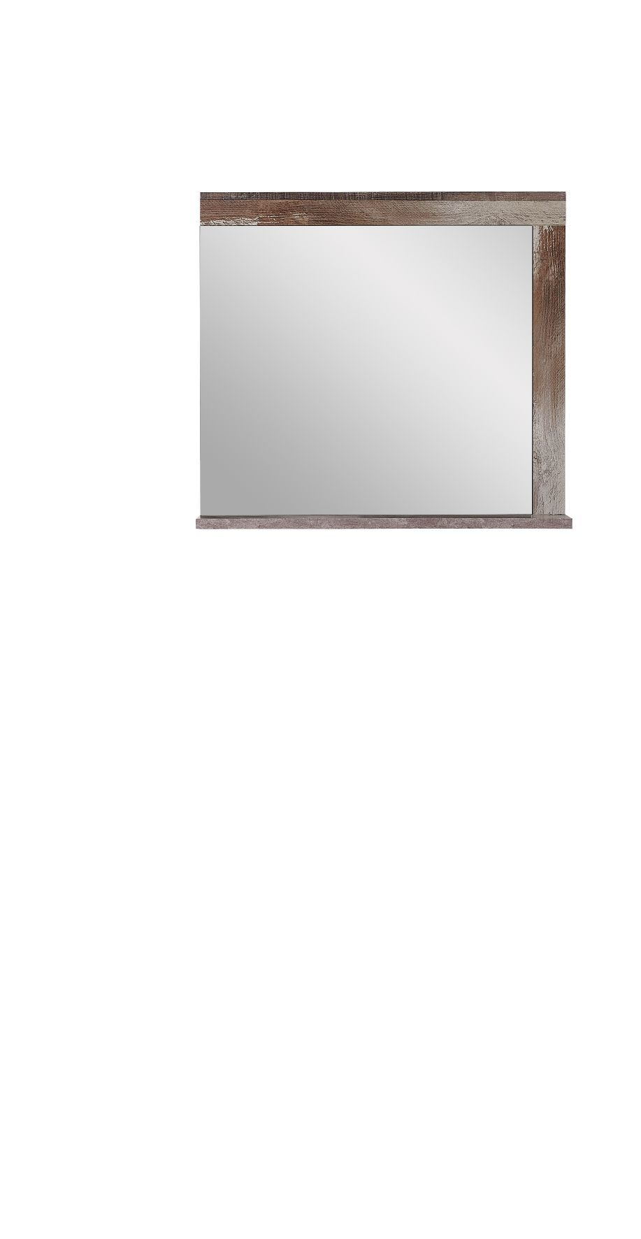 Oglinda decorativa din pal Krone Natur, L77xl70 cm