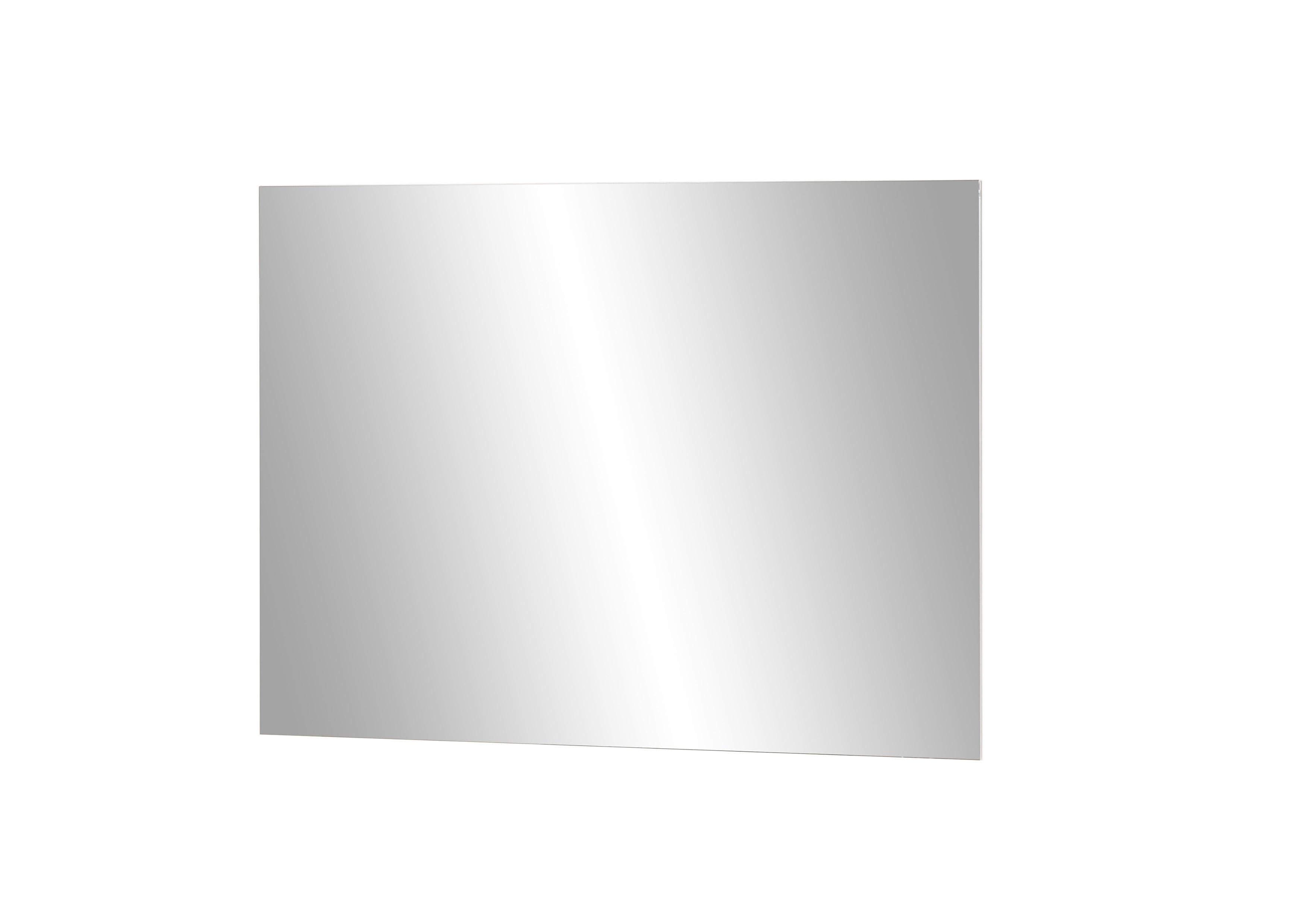 Oglinda decorativa din pal Nysa Alb, L80xl60 cm
