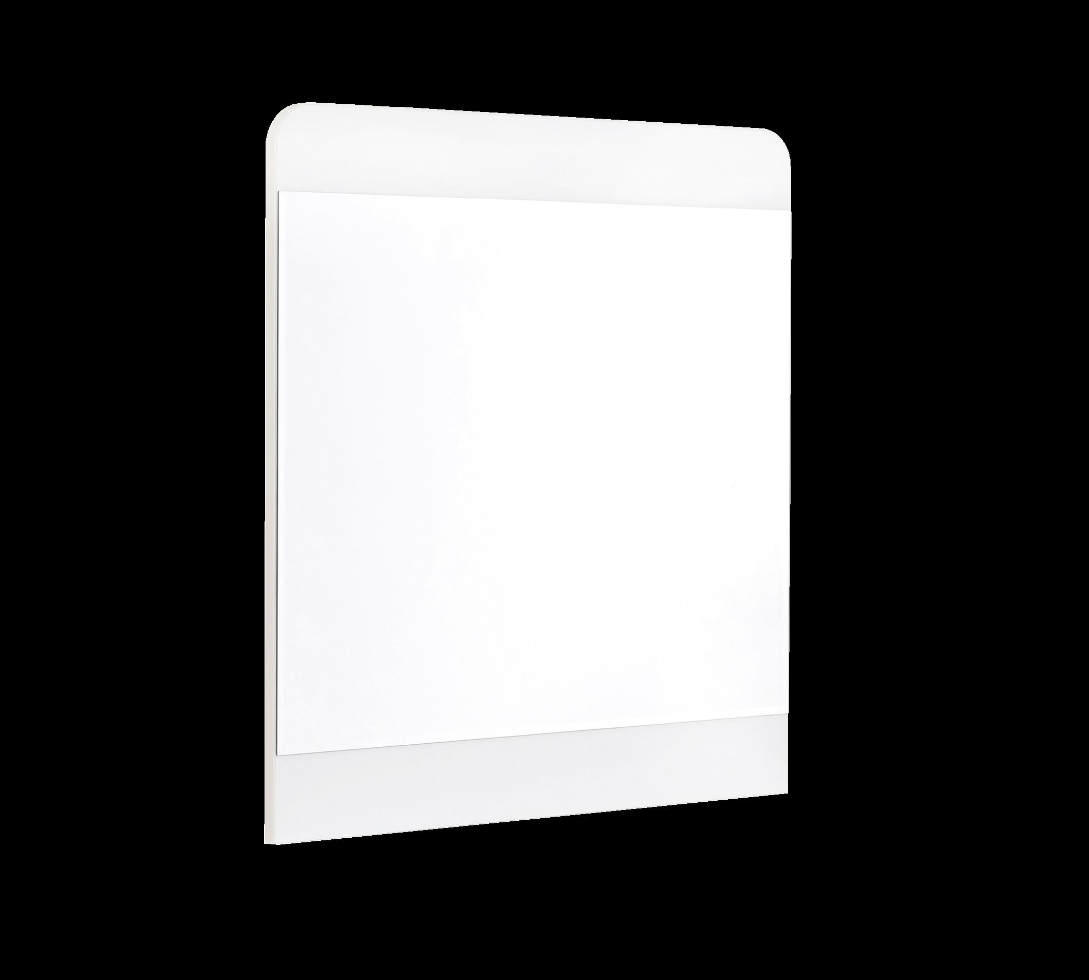 Oglinda decorativa din pal pentru tineret White l71xA3xH75 cm