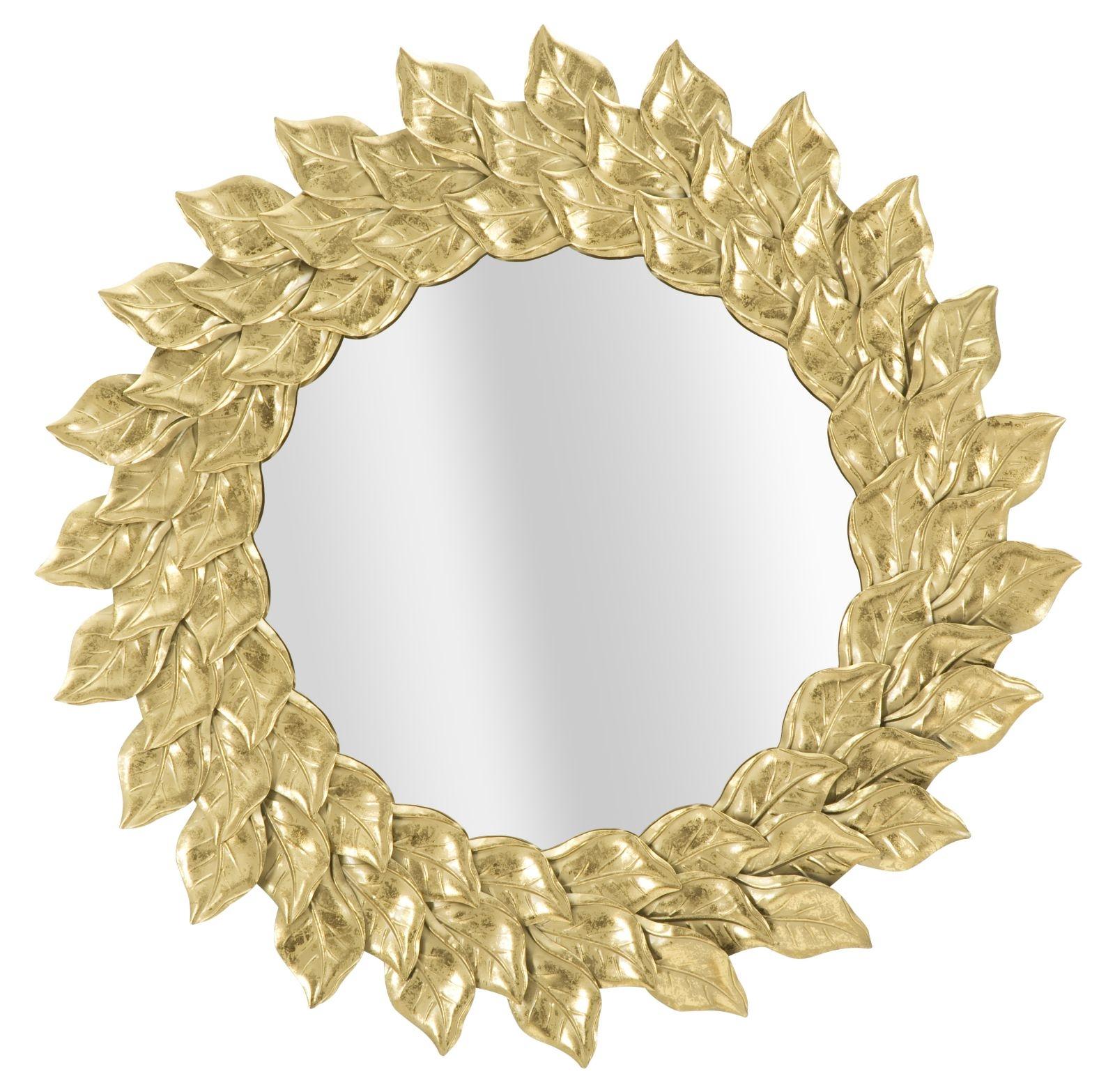 Oglinda decorativa Petal, Ø 73 cm