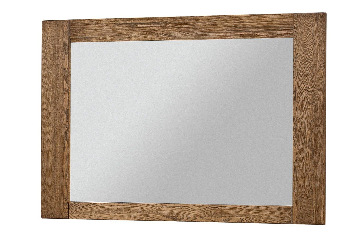 Oglinda Decorativa Rama Furnir Velvet Small Stejar Rustic
