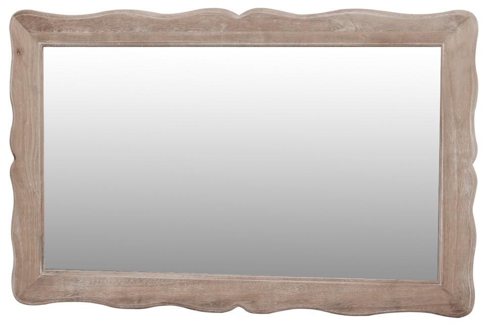 Oglinda din lemn de plop si MDF Pesaro PE054