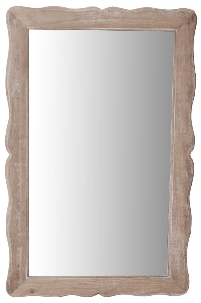 Oglinda din lemn de plop si MDF Pesaro PE055