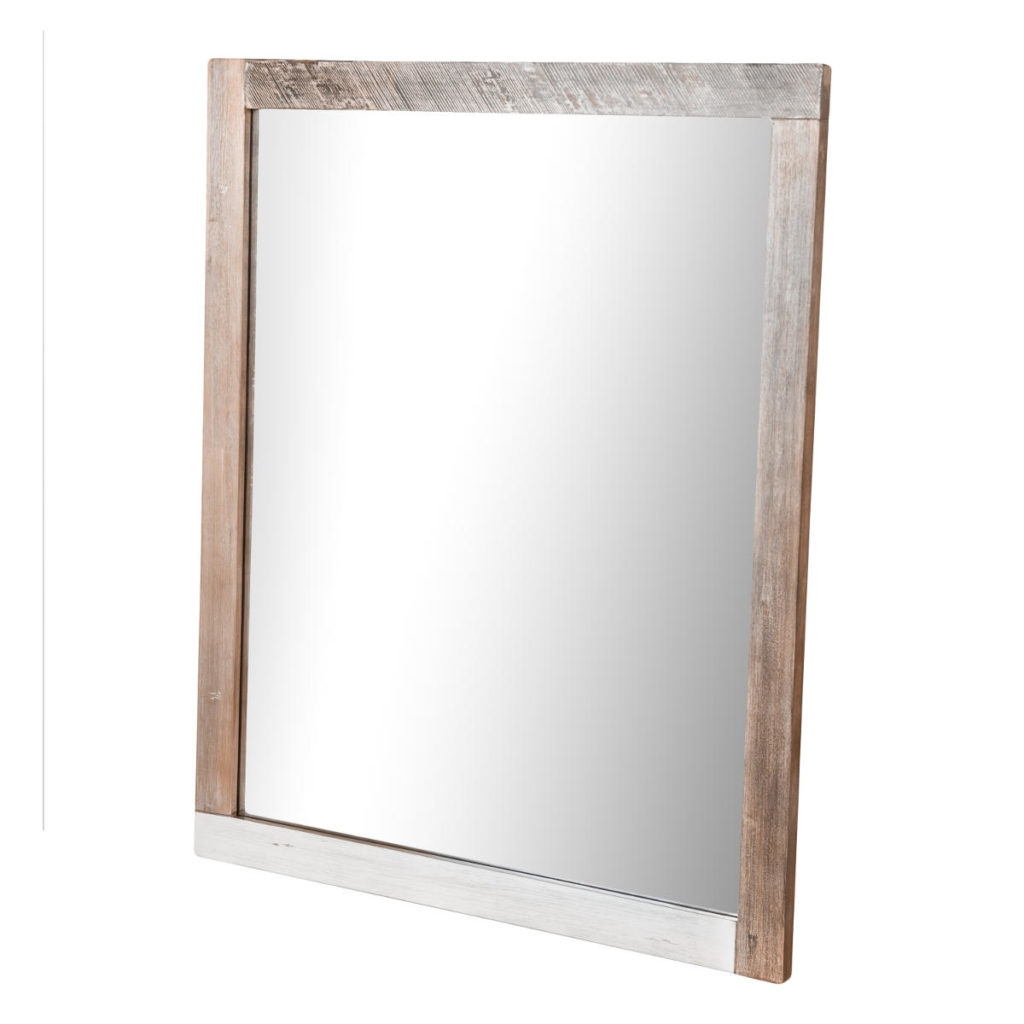 Oglinda din lemn de salcam si MDF Adesso B05