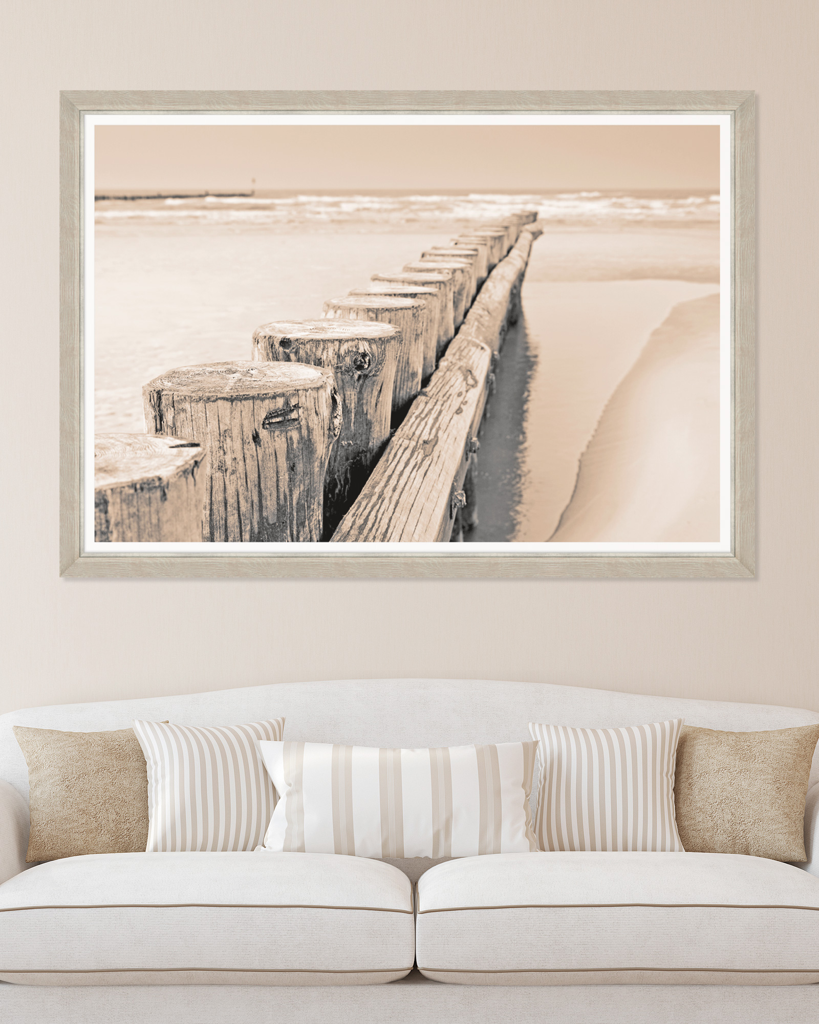 Tablou Framed Art Old Beach