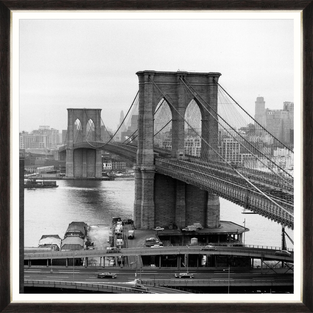 Tablou Framed Art Old Brooklyn Bridge