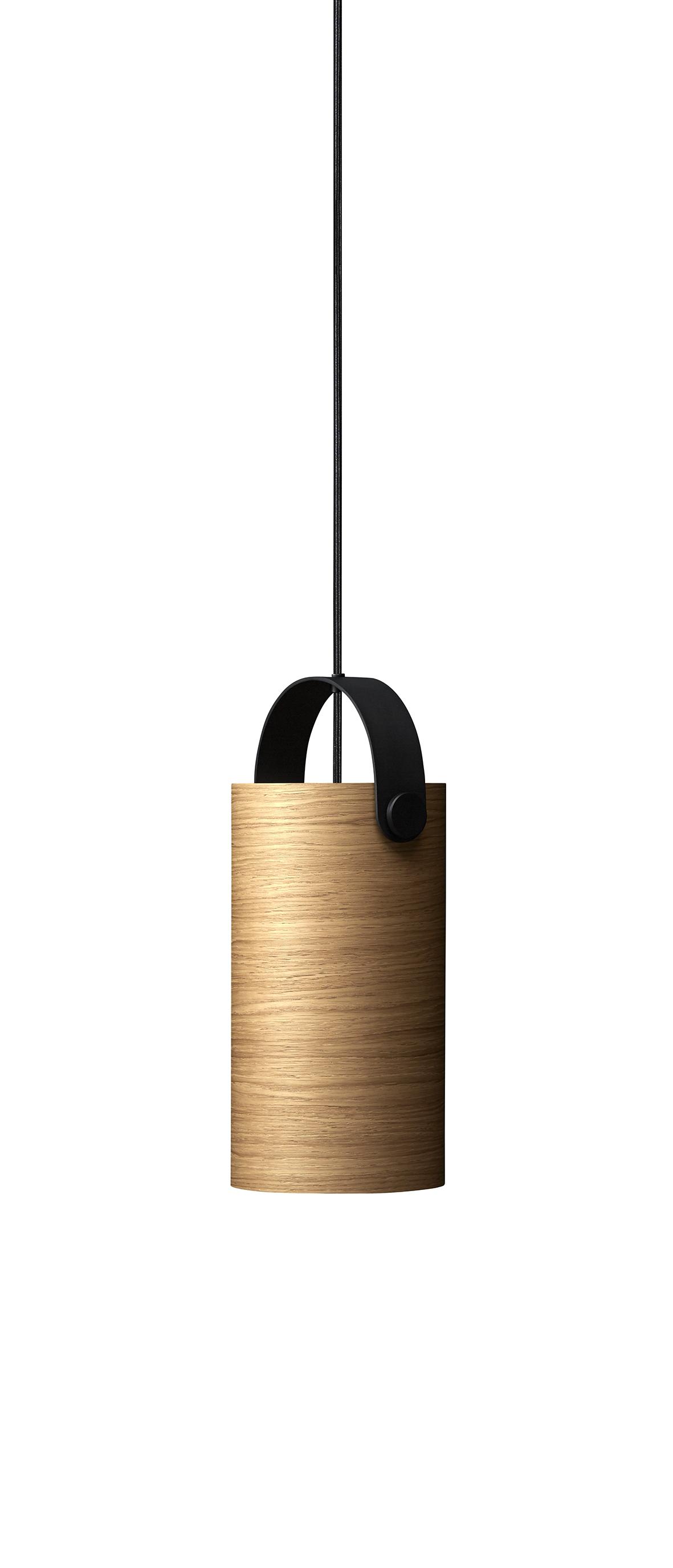 Lustra OoTW, Ø16 cm, H31 cm, Oak