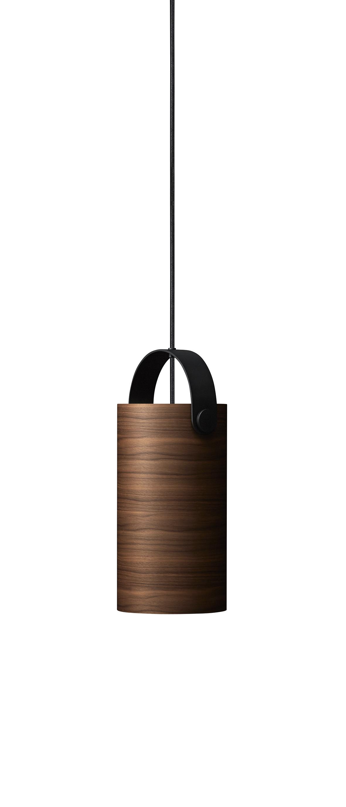 Lustra OoTW, Ø16 cm, H31 cm, Walnut