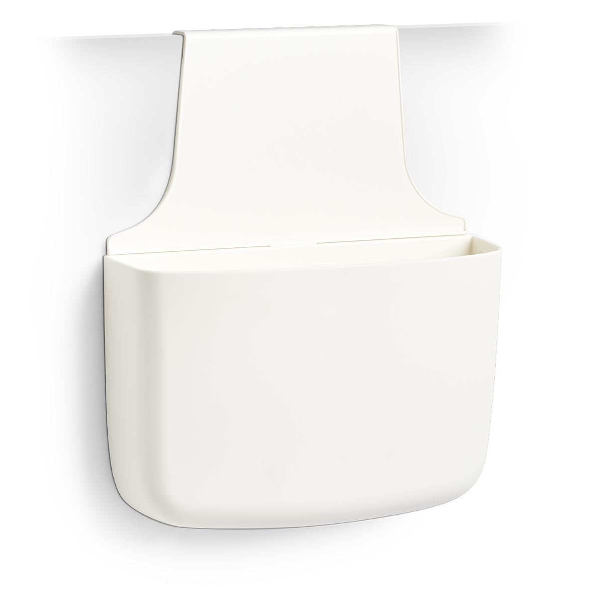 Organizator pentru usa din plastic, pentru produse de curatenie, Sink Alb, l28xA8,5xH34 cm imagine