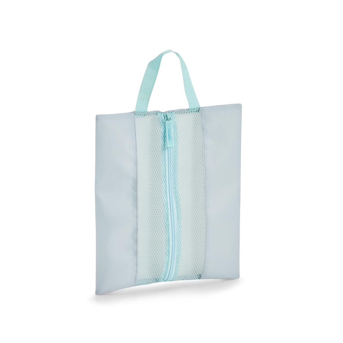 Organizator textil pentru bagaj de calatorie, Suitcase Gri Deschis, L26xl30 cm