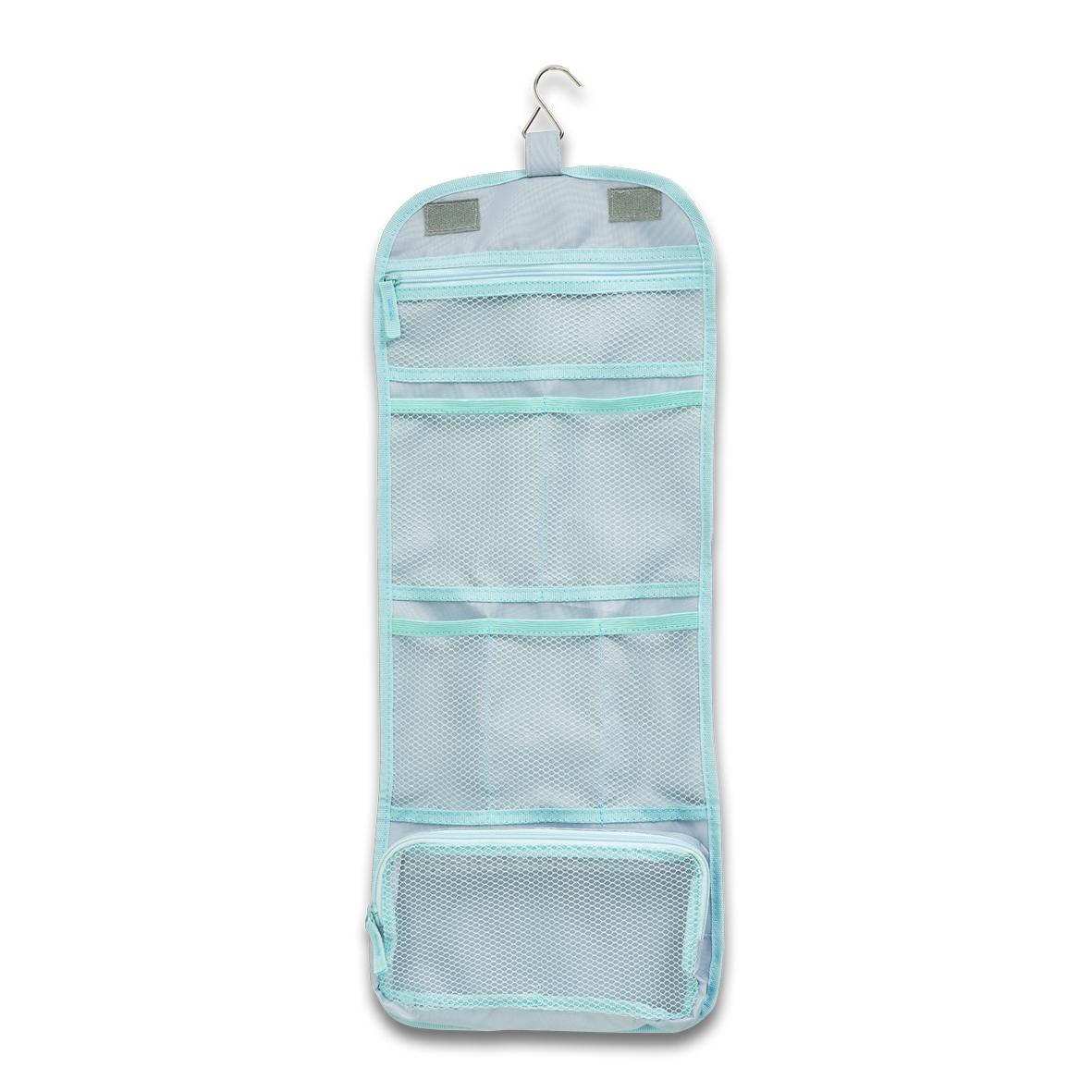 Organizator textil pentru bagaj de calatorie, Suitcase Gri Deschis, L26xl64,5 cm imagine