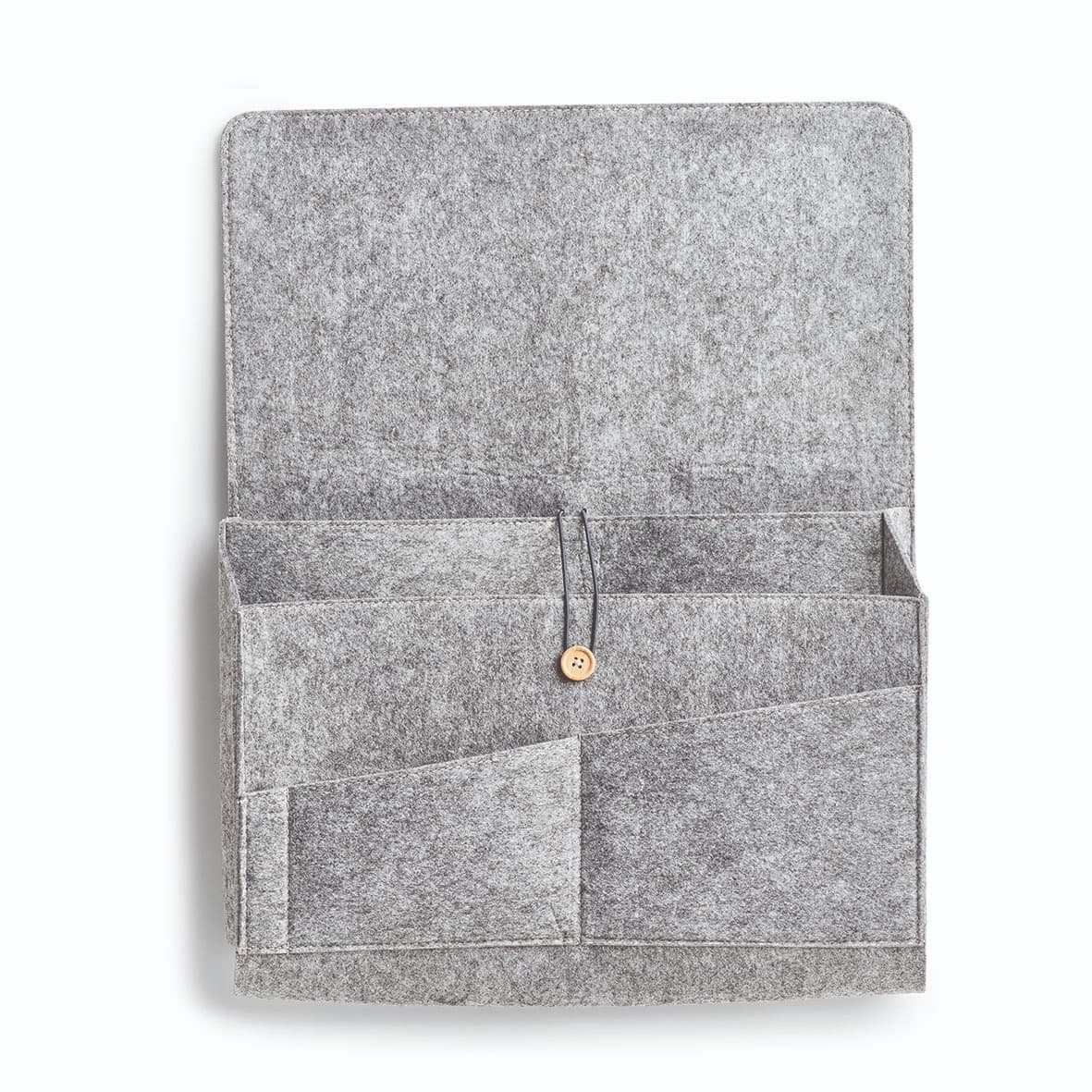 Organizator textil pentru birou, Couch Gri, l40xA7xH30 cm imagine