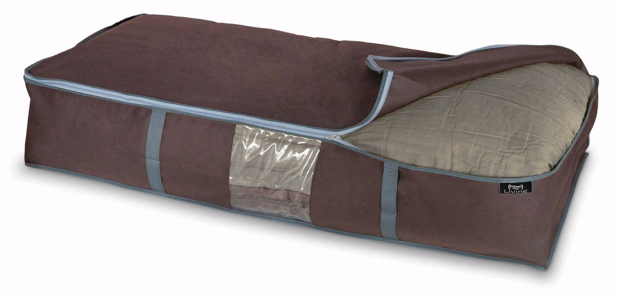 Organizator textil pliabil cu fermoar, Classic XL Maro, L95xl45xH18 cm