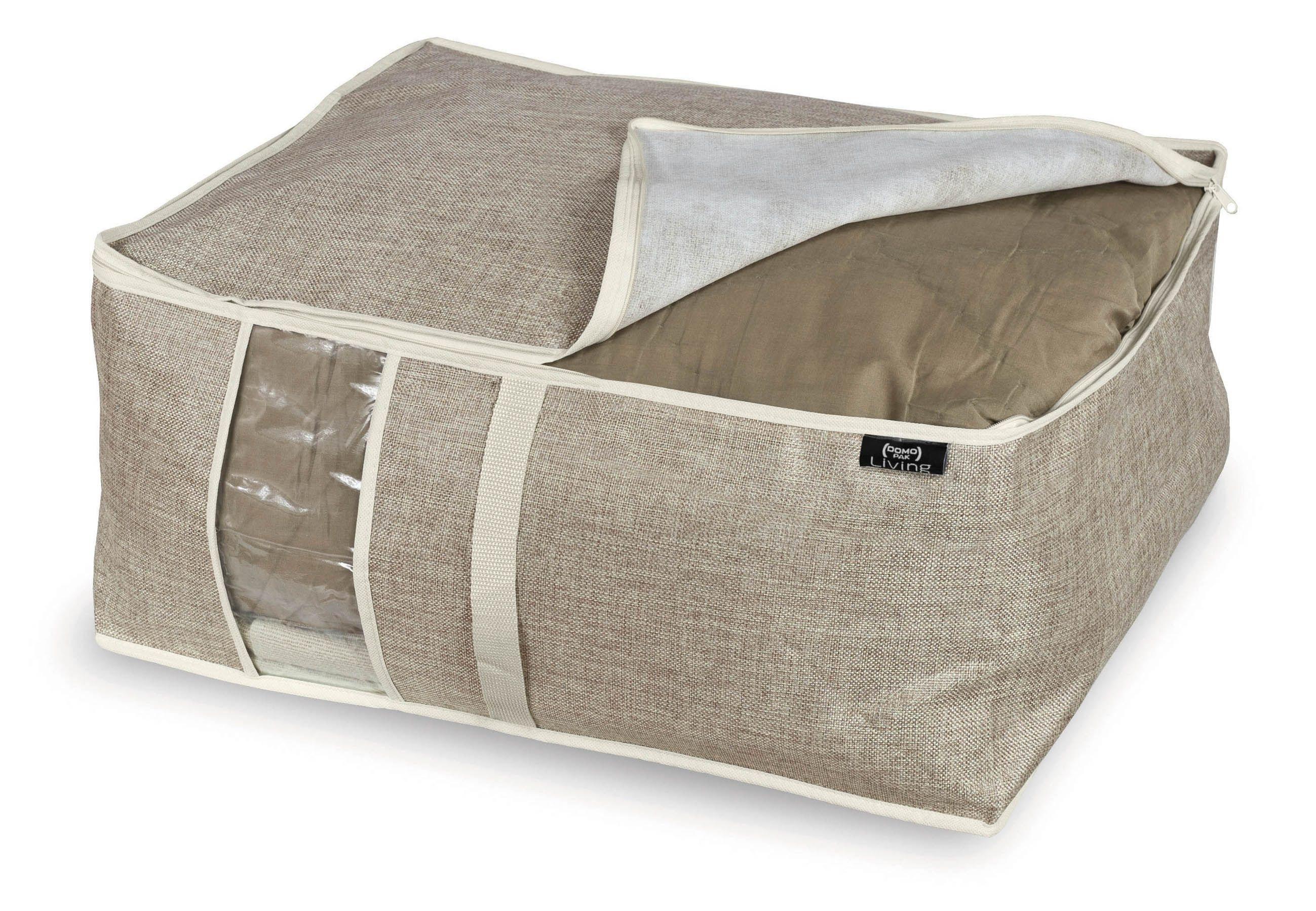 Organizator textil pliabil cu fermoar, Maison Crem, L55xl45xH25 cm