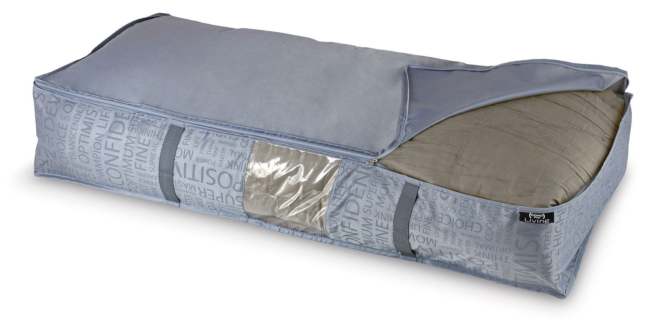Organizator textil pliabil cu fermoar, Urban XL Gri, L95xl45xH18 cm poza