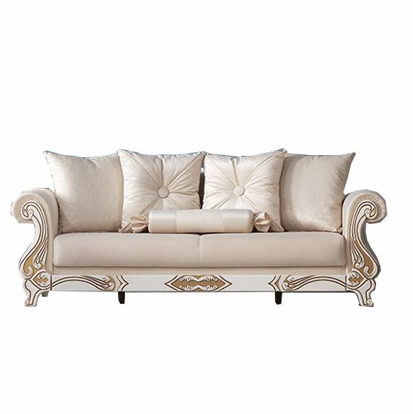 Canapea extensibila 3 locuri Osmanli White K1