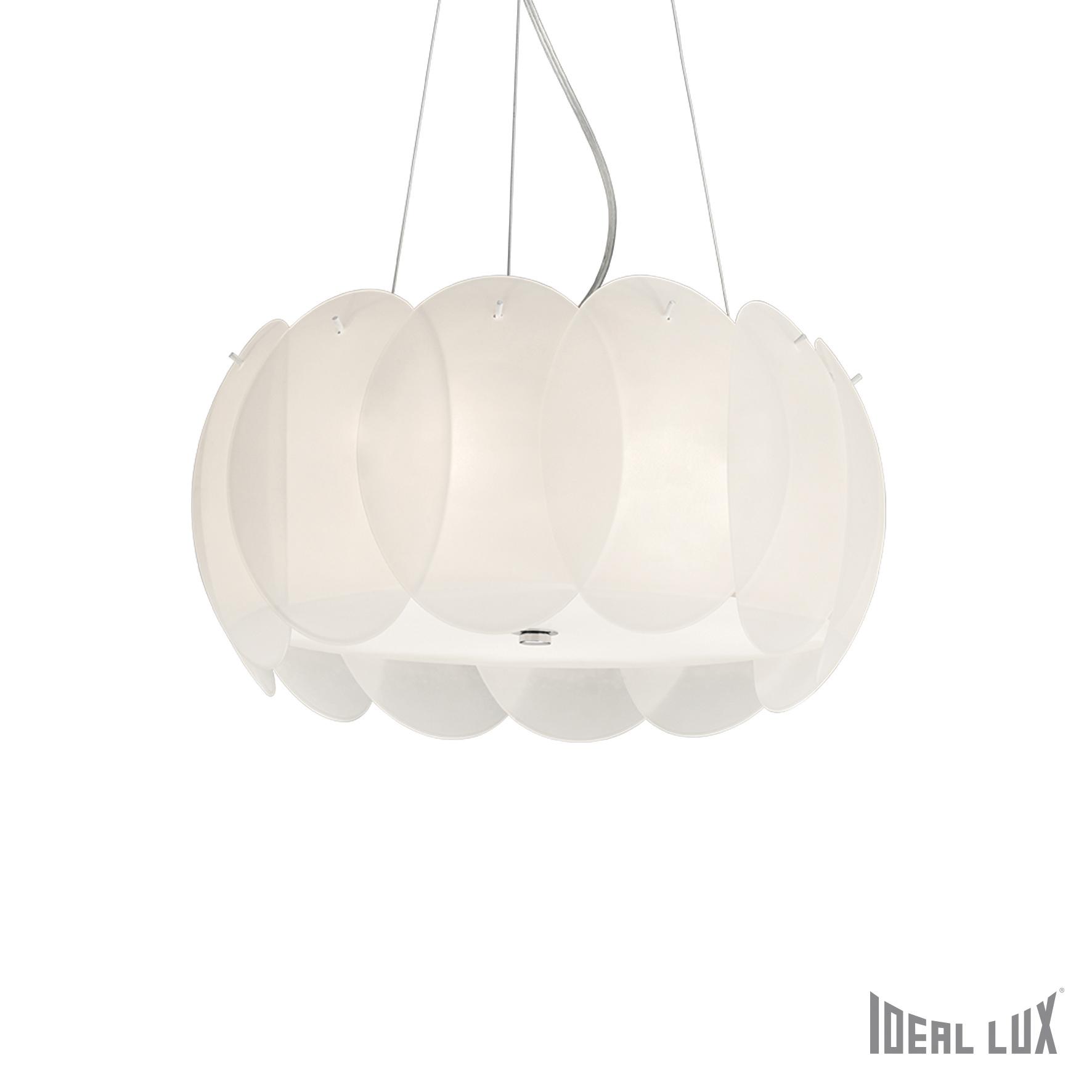 Lustra Ovalino SP5 Bianco