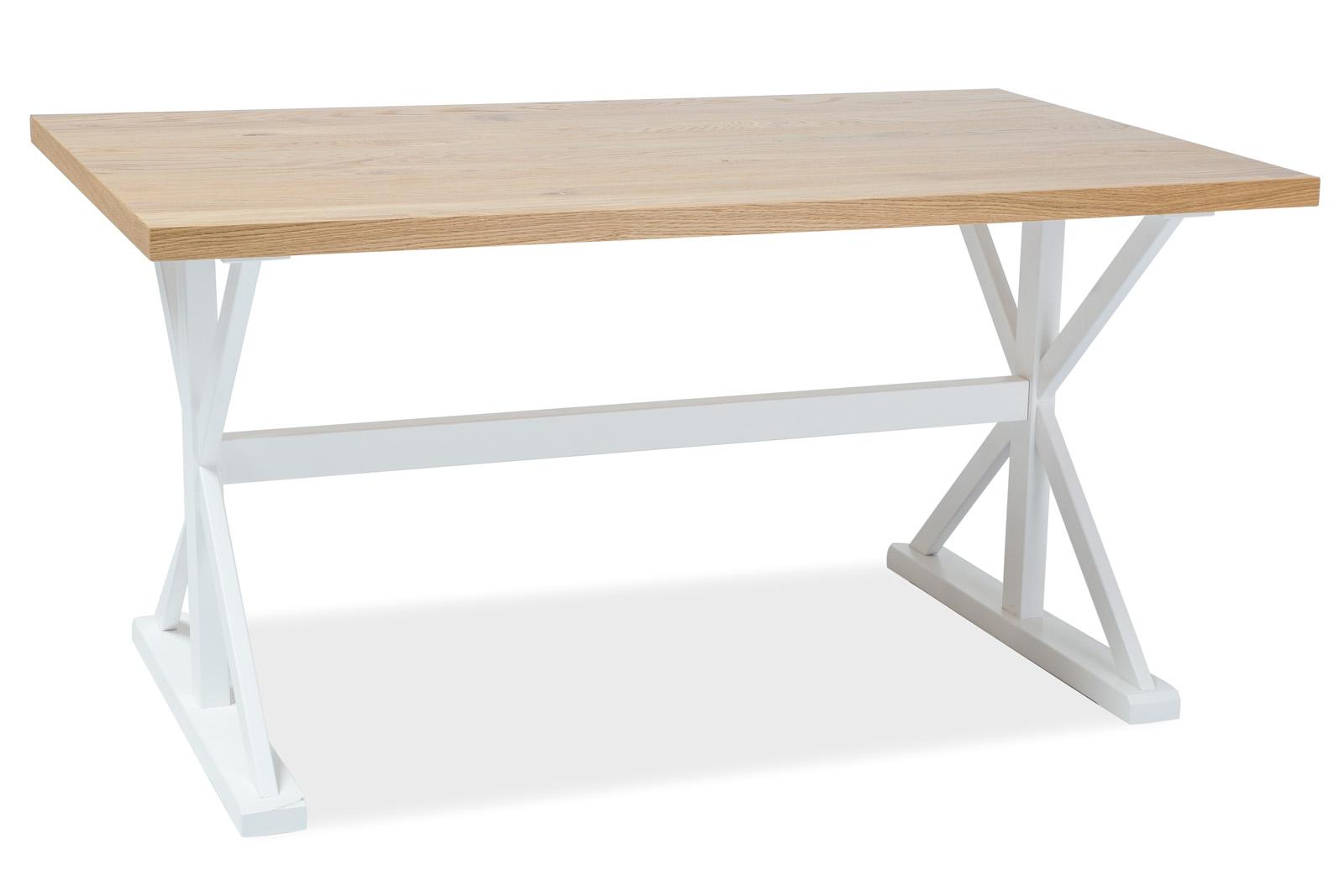 Masa din furnir si lemn de fag Oxford, L150xl90xh76 cm