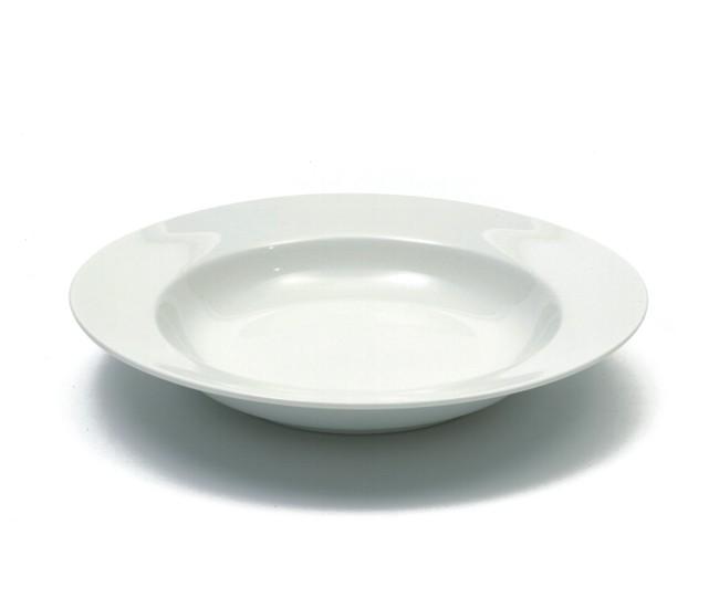 Set 4 Farfurii White Basics Alb, Portelan, 23 cm