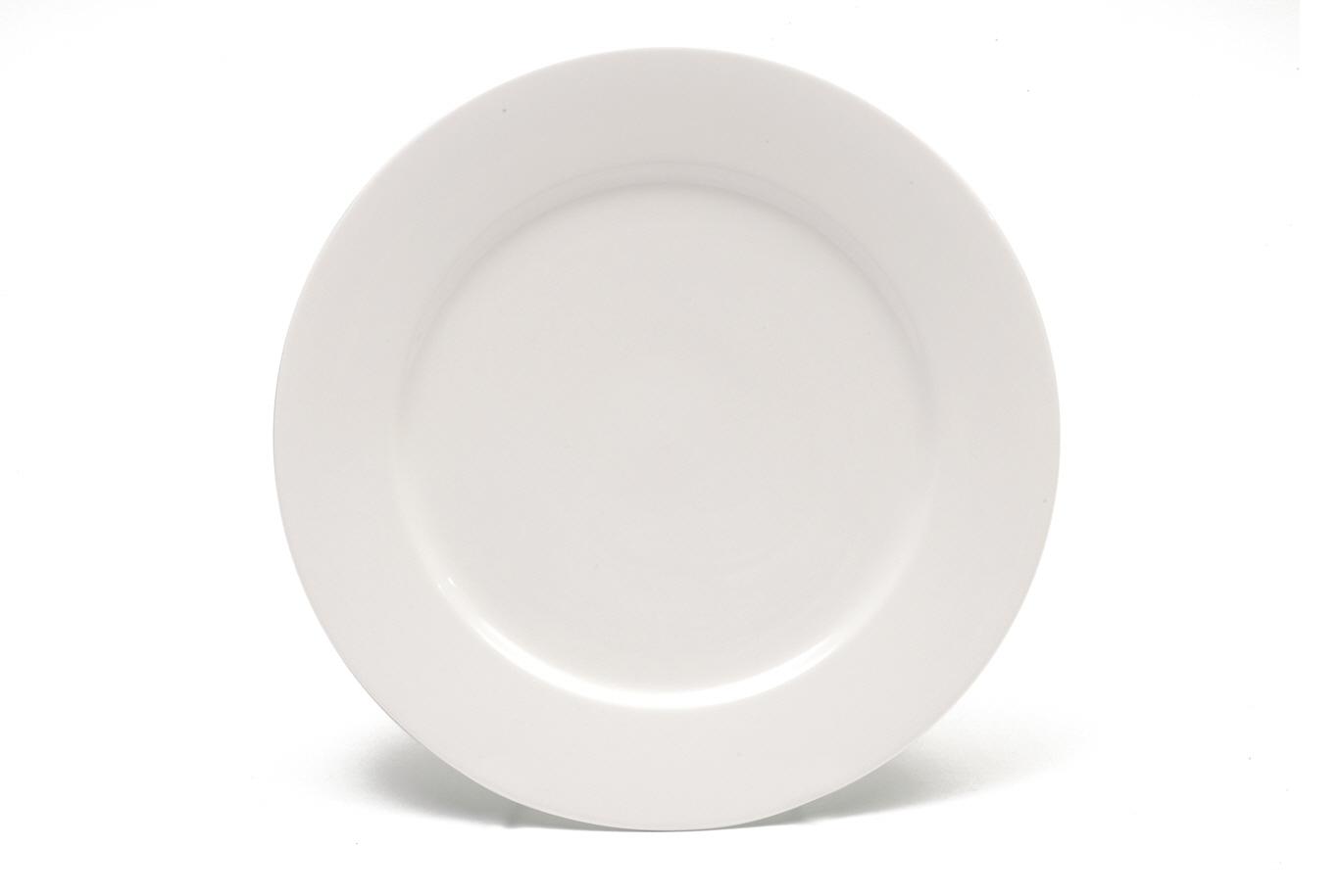 Set 4 Farfurii White Basics Dinner Alb, Portelan, 27,5 cm
