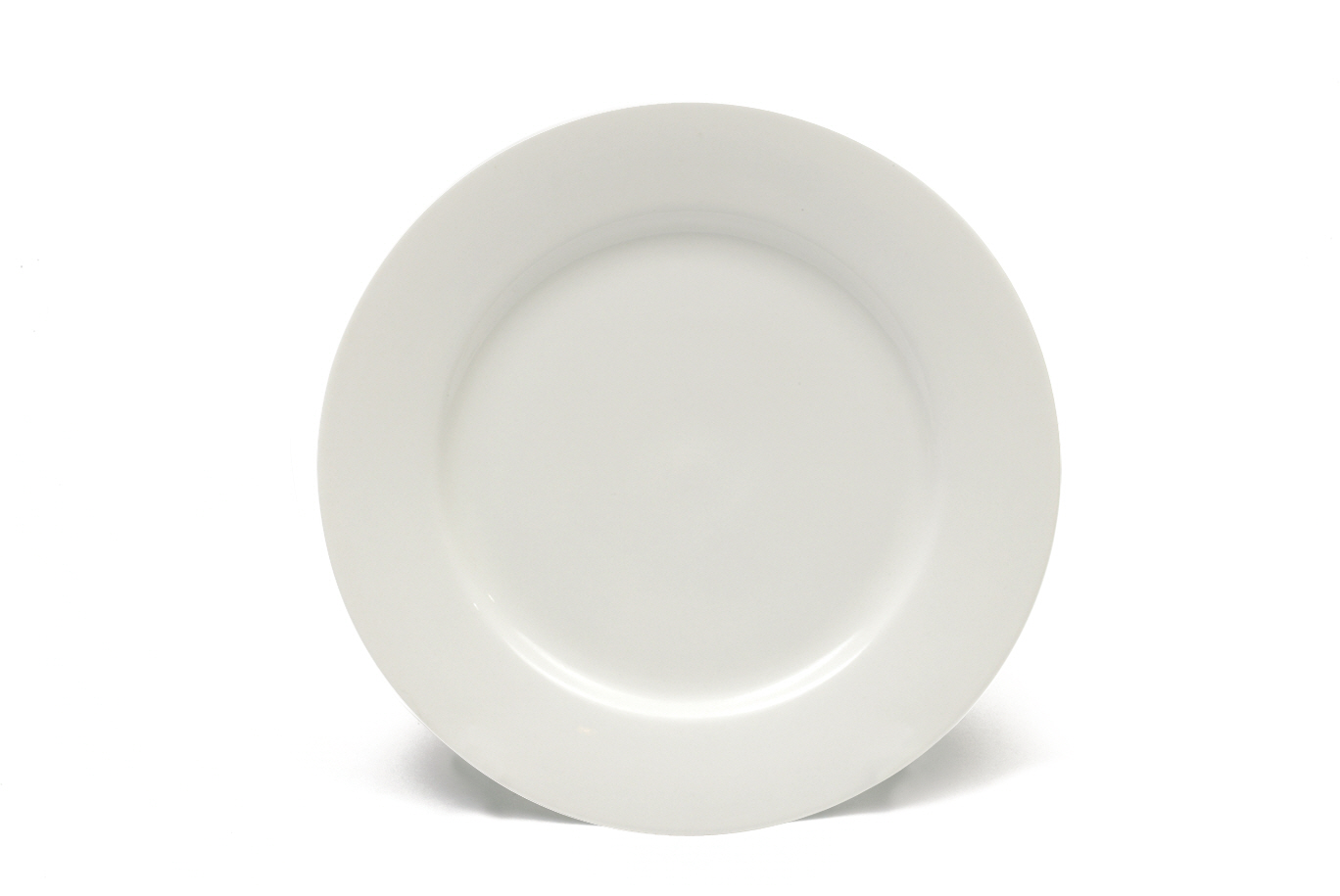 Set 4 Farfurii White Basics Dinner Alb, Portelan, 19 cm