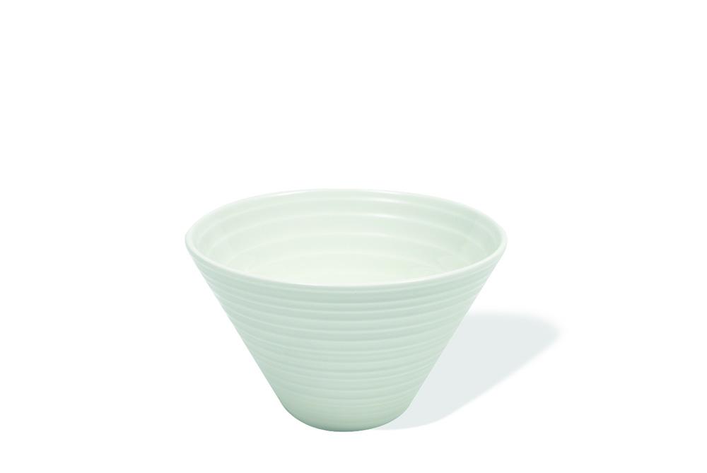 Set 6 Boluri, Portelan, White Basics Cirque, 11 x 5,5 cm