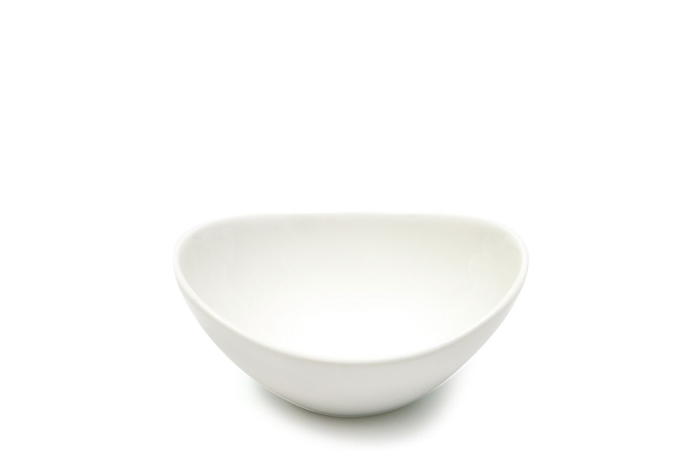 Set 6 Boluri White Basics Oval Bowl Alb, Portelan, 13,5 cm