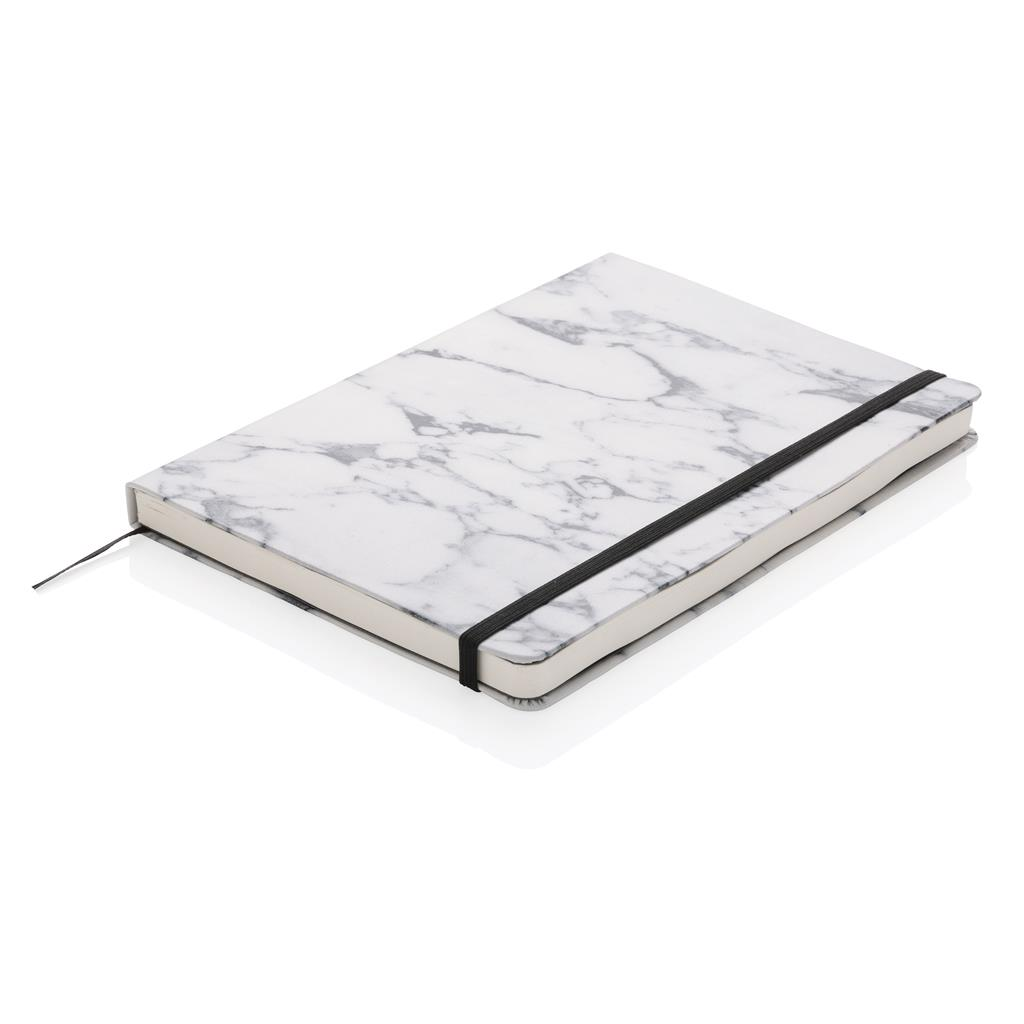 Agenda A5 Marble Deluxe White