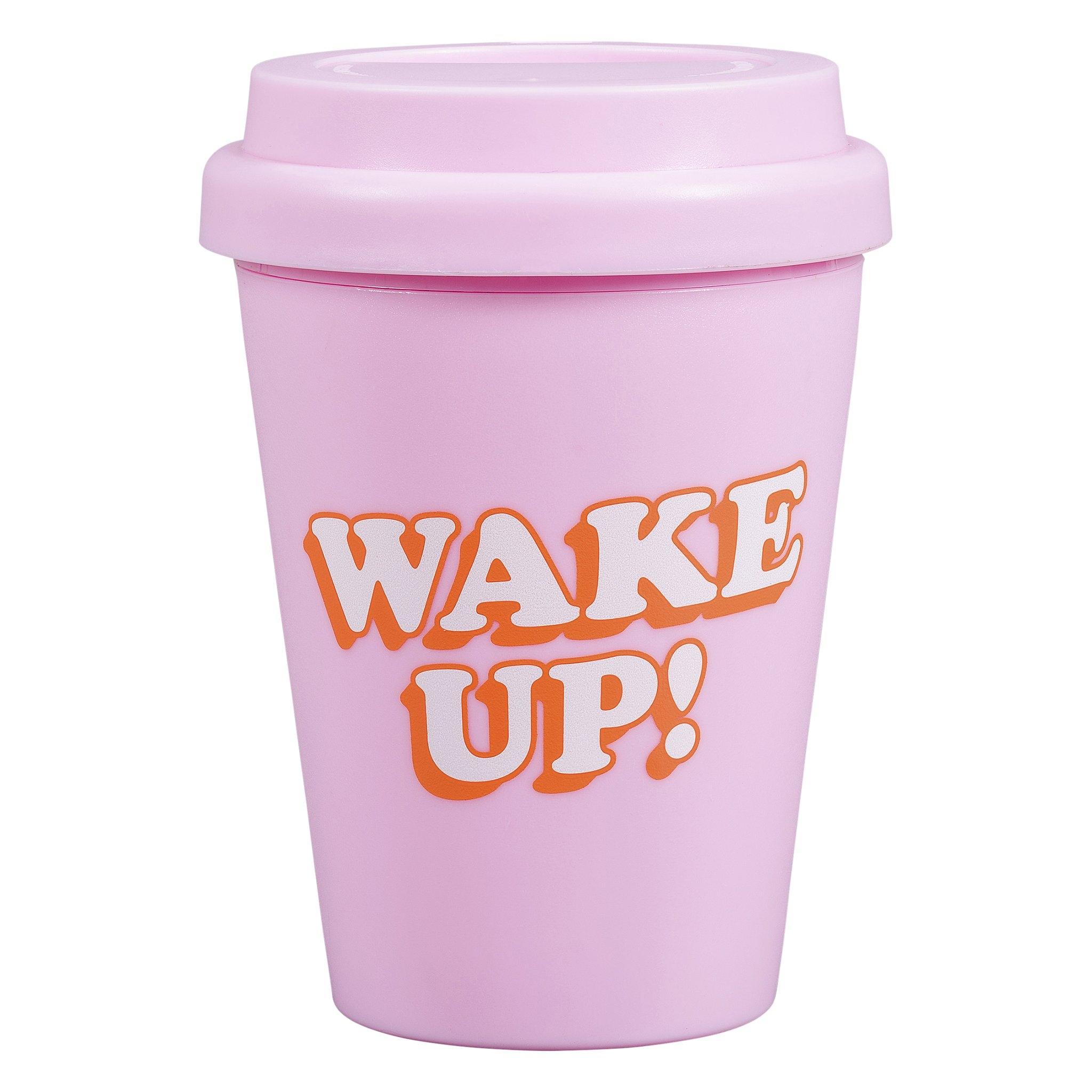 Pahar cu capac Wake' up YST100, 300 ml, Wild & Wolf imagine