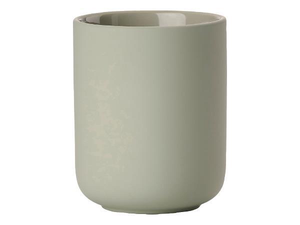 Pahar din ceramica pentru periuta de dinti Ume Pastel, Ø8,3xH10,3 cm, Zone Denmark imagine