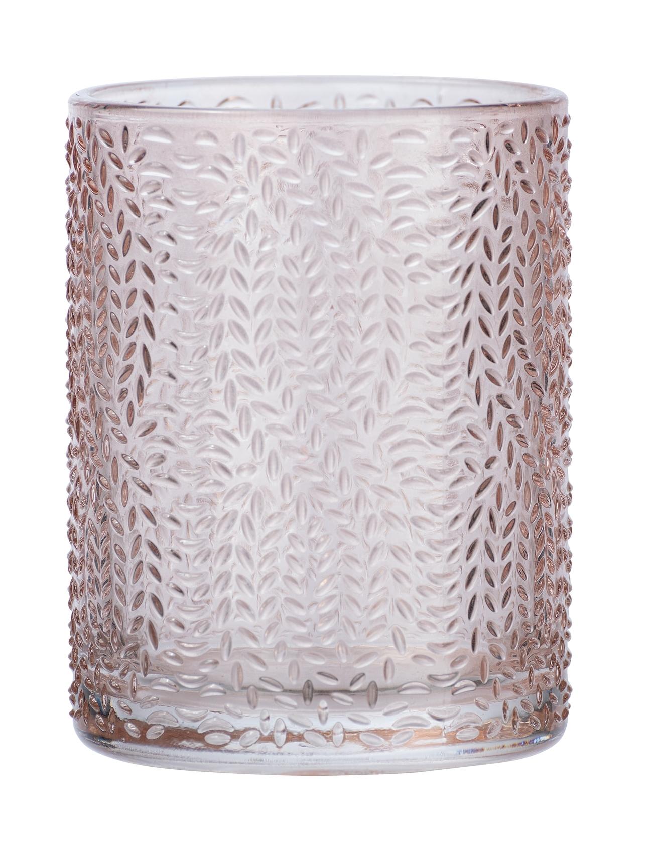 Pahar pentru periuta de dinti, din sticla, Vetro Rose, Ø7,5xH10 cm