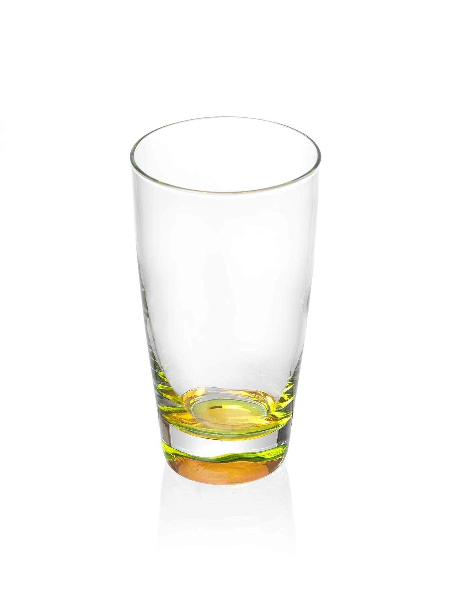 Set pahare Long Drink Caramba Yellow Flirt 400 ml 6 piese