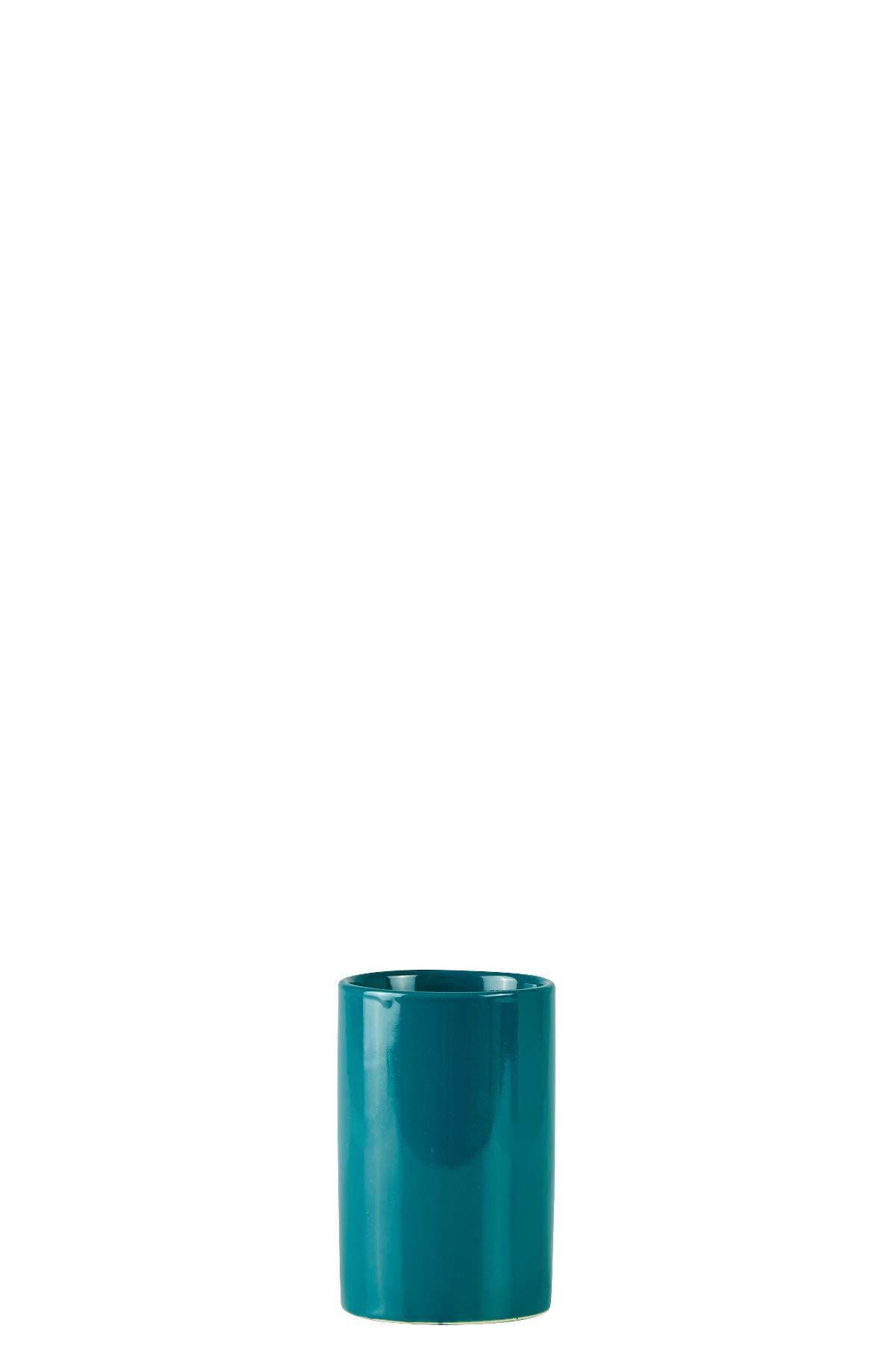Pahar pentru periuta de dinti din ceramica, 250 ml, Kj-Petrol din categoria Accesorii Baie