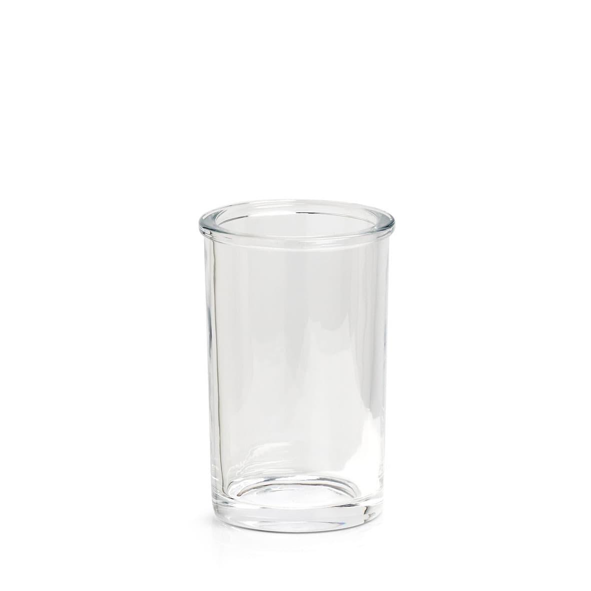 Pahar pentru periuta de dinti, din sticla, Clear Transparent, Ø7,4xH11,3 cm poza