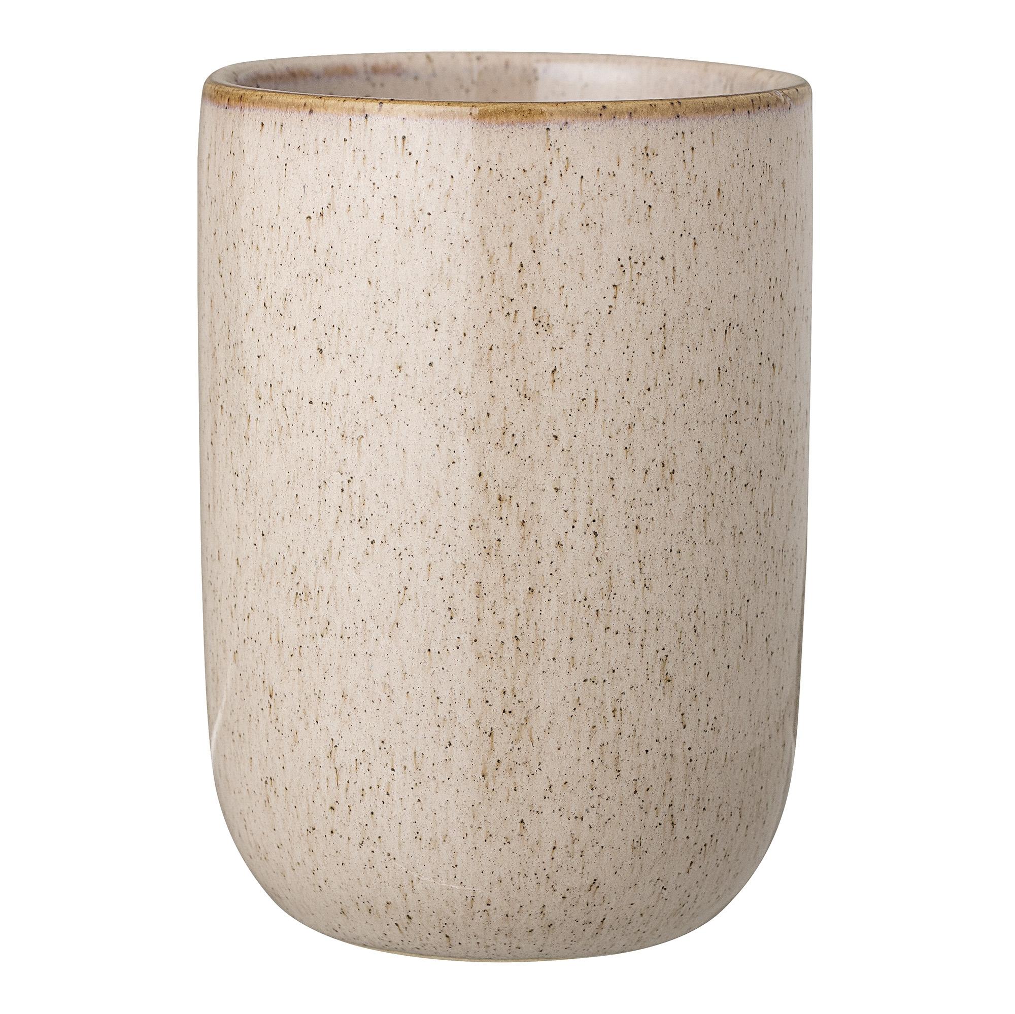 Pahar pentru periuta de dinti Nature Stoneware O7xH10 cm
