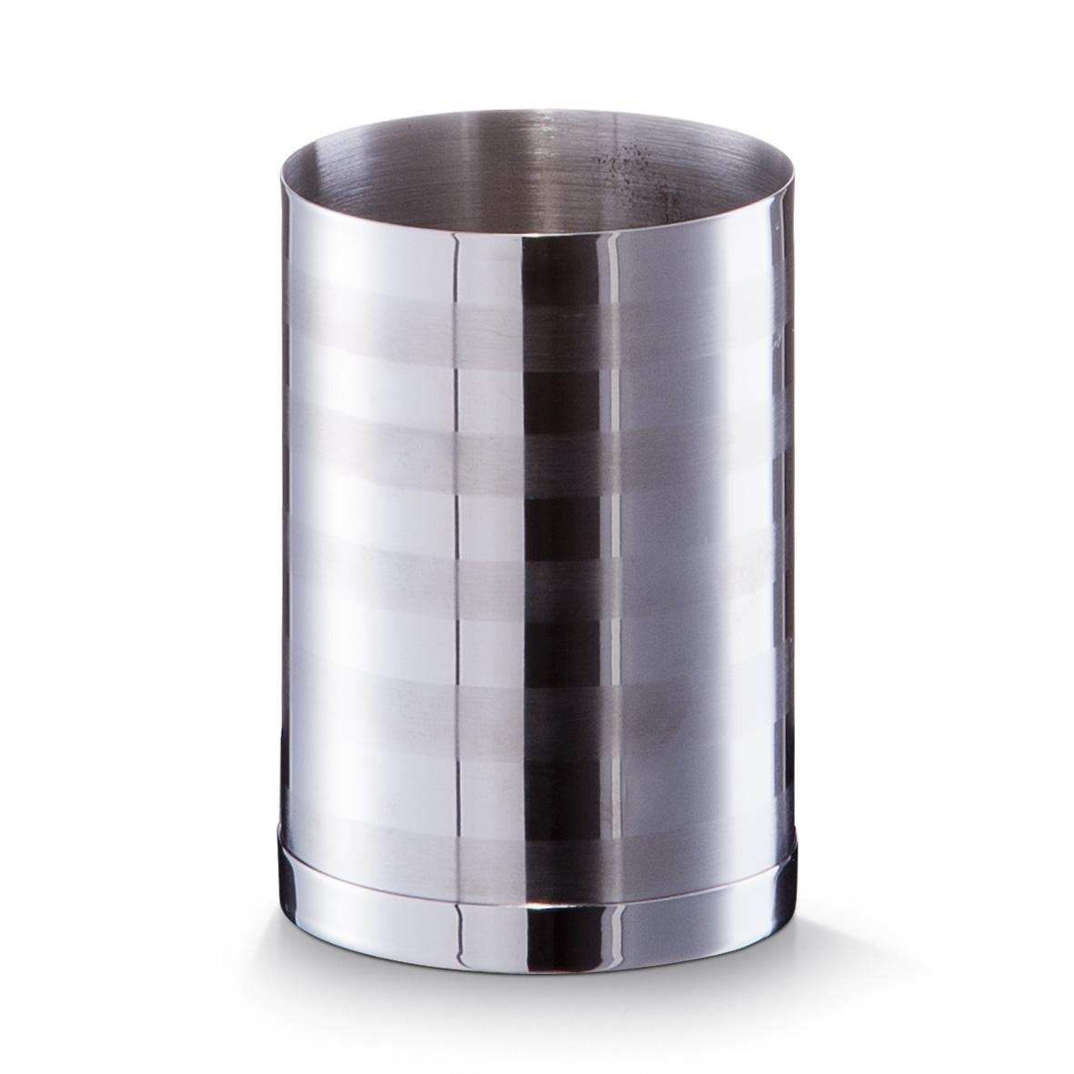 Pahar pentru periuta din otel inoxidabil, Ø 7xH10 cm imagine