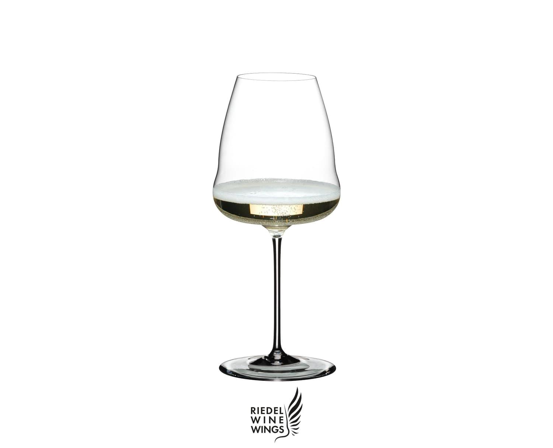 Pahar pentru sampanie, din cristal Winewings Champagne Wine Clear, 742 ml, Riedel imagine