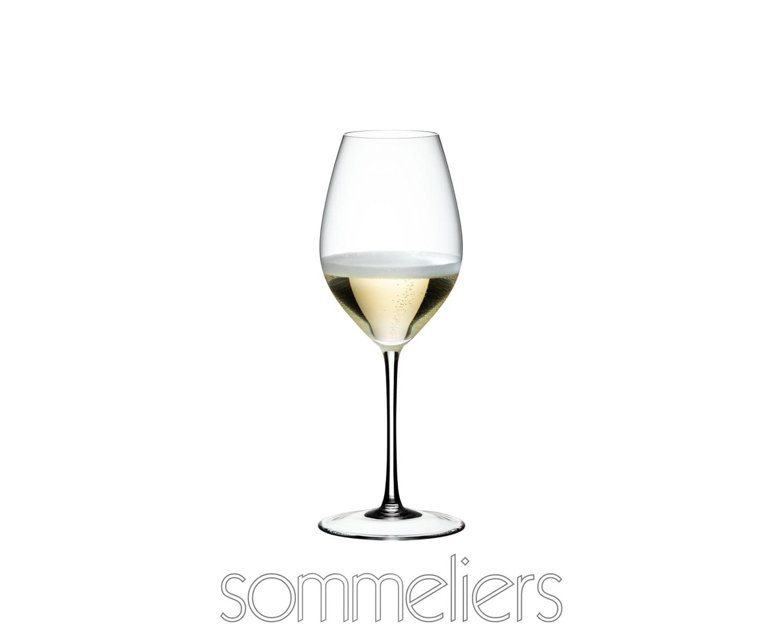 Pahar pentru sampanie si vin spumant, din cristal Sommeliers Champagne Wine Clear, 445 ml, Riedel imagine