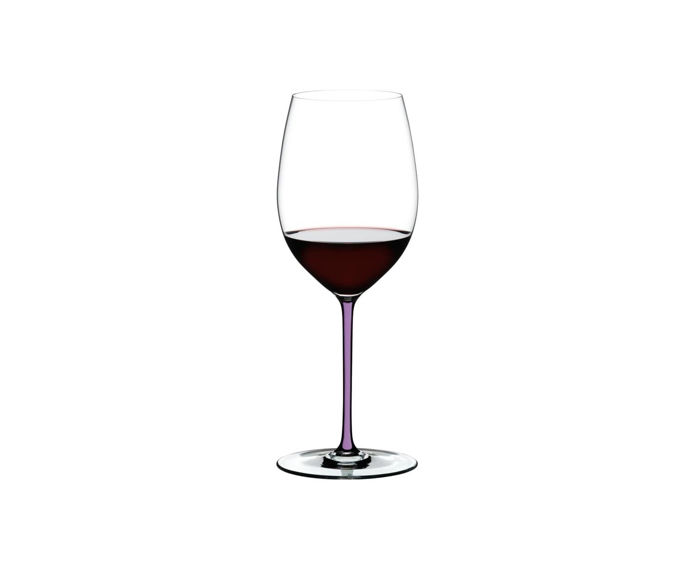 Pahar pentru vin, din cristal Fatto A Mano Cabernet / Merlot Violet, 625 ml, Riedel imagine