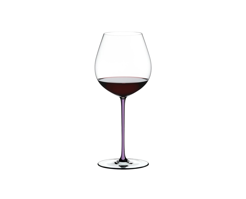 Pahar pentru vin, din cristal Fatto A Mano Old World Pinot Noir Violet, 705 ml, Riedel imagine