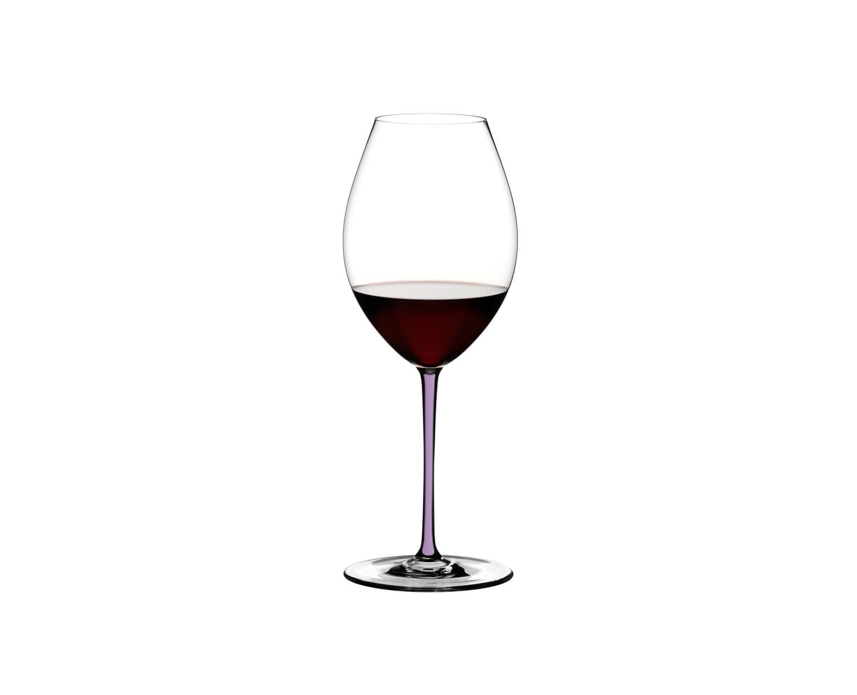 Pahar pentru vin, din cristal Fatto A Mano Old World Syrah Violet, 600 ml, Riedel imagine