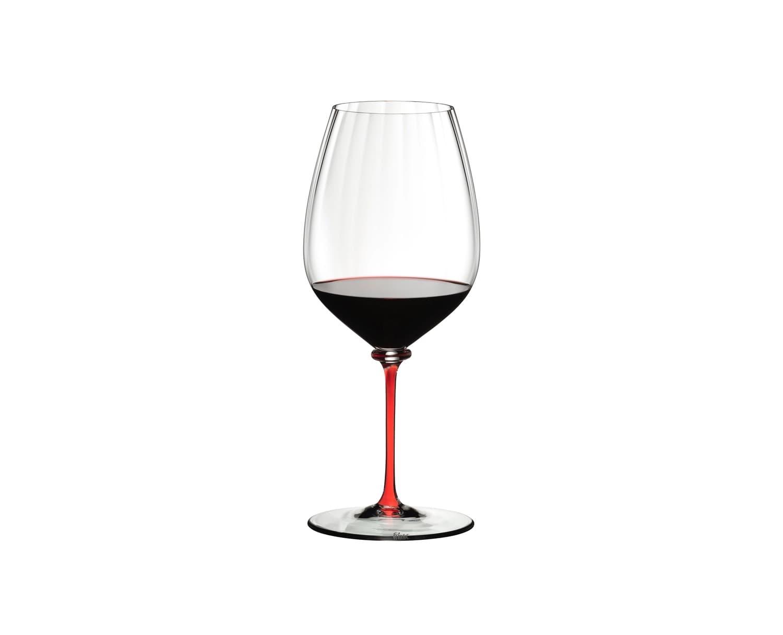 Pahar pentru vin, din cristal Fatto A Mano Performance Cabernet / Merlot Rosu, 834 ml, Riedel imagine