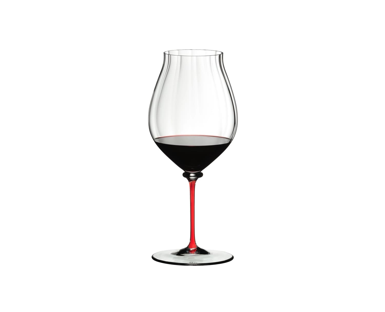 Pahar pentru vin, din cristal Fatto A Mano Performance Pinot Noir Rosu, 830 ml, Riedel imagine
