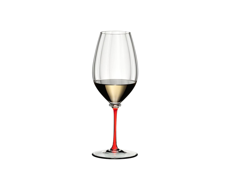 Pahar pentru vin, din cristal Fatto A Mano Performance Riesling Rosu, 623 ml, Riedel imagine